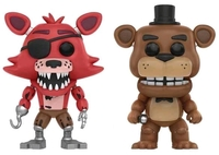 Five Nights at Freddy's - Freddy & Foxy Pop! Vinyl 2-Pack