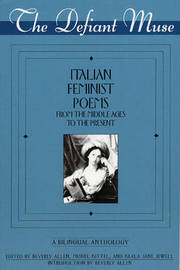 Italian Feminist Poems from the Middle Ages to the Present image