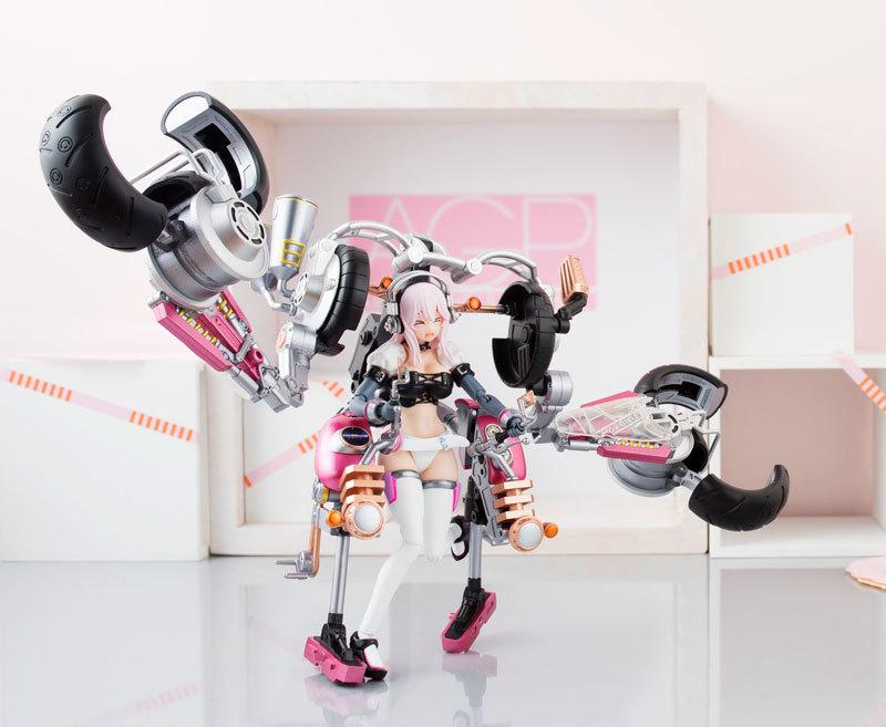 AGP Super Sonico: Super Bike Robo (10th Anniversary Ver.) - Articulated Figure image