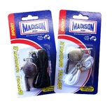 Madison: Metal Whistle With Lanyard - Assorted Colours