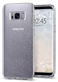 Spigen: Galaxy S8 - Liquid Crystal Glitter Case (Crystal Quartz)