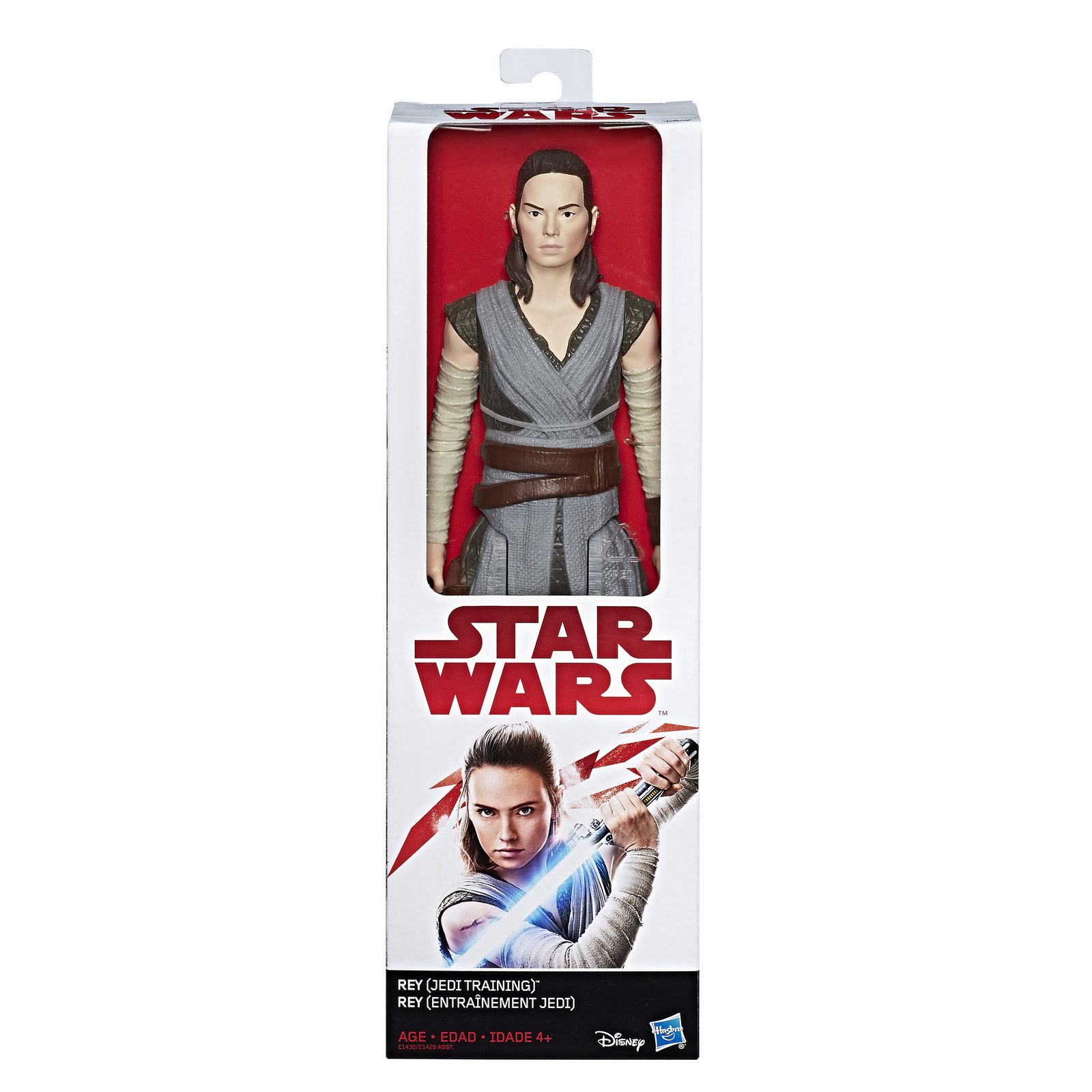 "Star Wars: The Last Jedi 12"" Figure - Rey (Jedi Training) image"