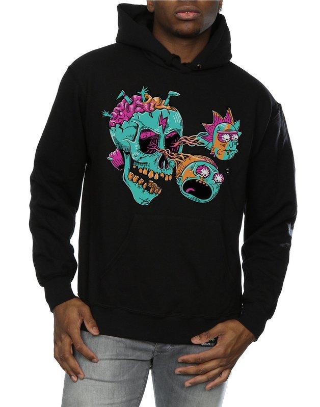 Rick and Morty: Eyeball Skull Hoodie (X-Large)