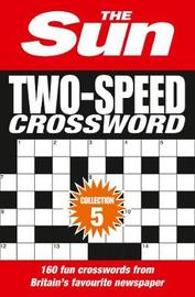 The Sun Two-Speed Crossword Collection 5 by The Sun image