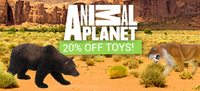 20% off Animal Planet Toys!