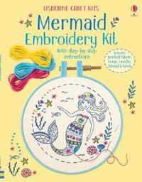 Embroidery Kit: Mermaid by Lara Bryan