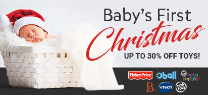 Baby's 1st Christmas Toy Sale