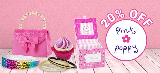 20% off Pink Poppy!