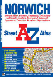 Norwich Street Atlas by Geographers A-Z Map Company