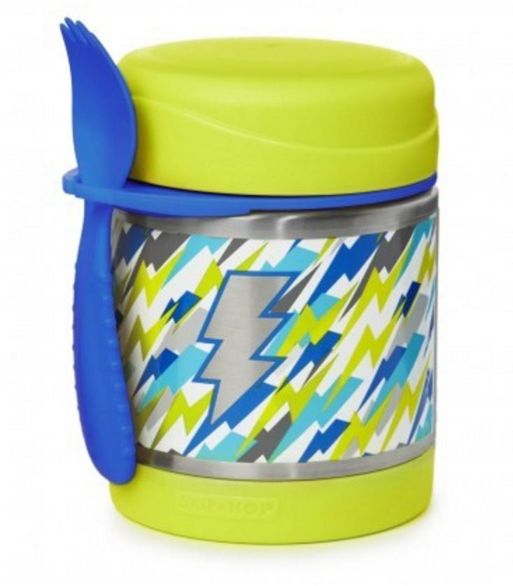 Skip Hop: Forget Me Not Insulated Food Jar - Lightning image