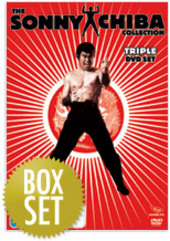 Sonny Chiba Collection, The - Vol. 1 (3 Disc Box Set) on DVD