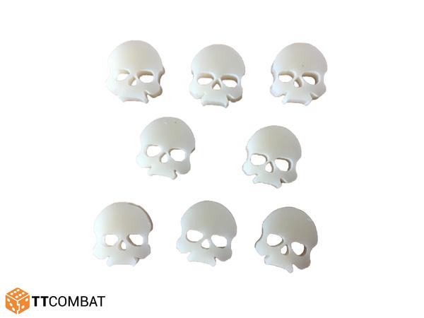 TTCombat: Skull Tokens Set - Ivory