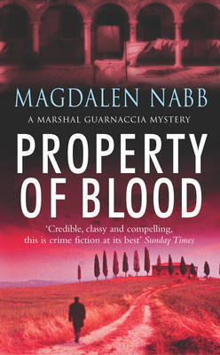Property Of Blood by Magdalen Nabb image
