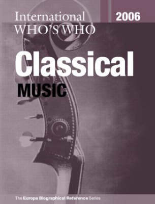 International Who's Who in Classical Music image