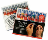 Vallejo Game Colour Professional Quality Paint Set - 8 Colours & 2 Brushes