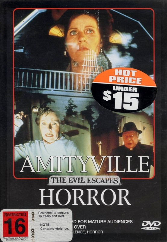 Amityville Horror: The Evil Escapes on DVD