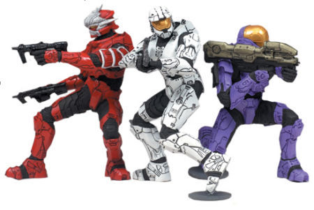Halo Heroic Collection Action Figures Lone Wolves 2 (pack of 3)