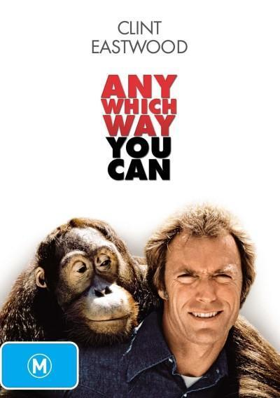 Any Which Way You Can on DVD