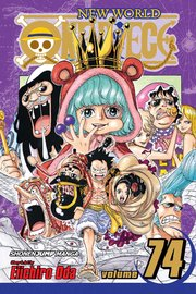 One Piece, Vol. 74 by Eiichiro Oda