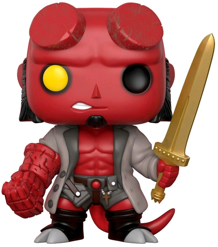 Hellboy with Sword - Pop! Vinyl Figure image