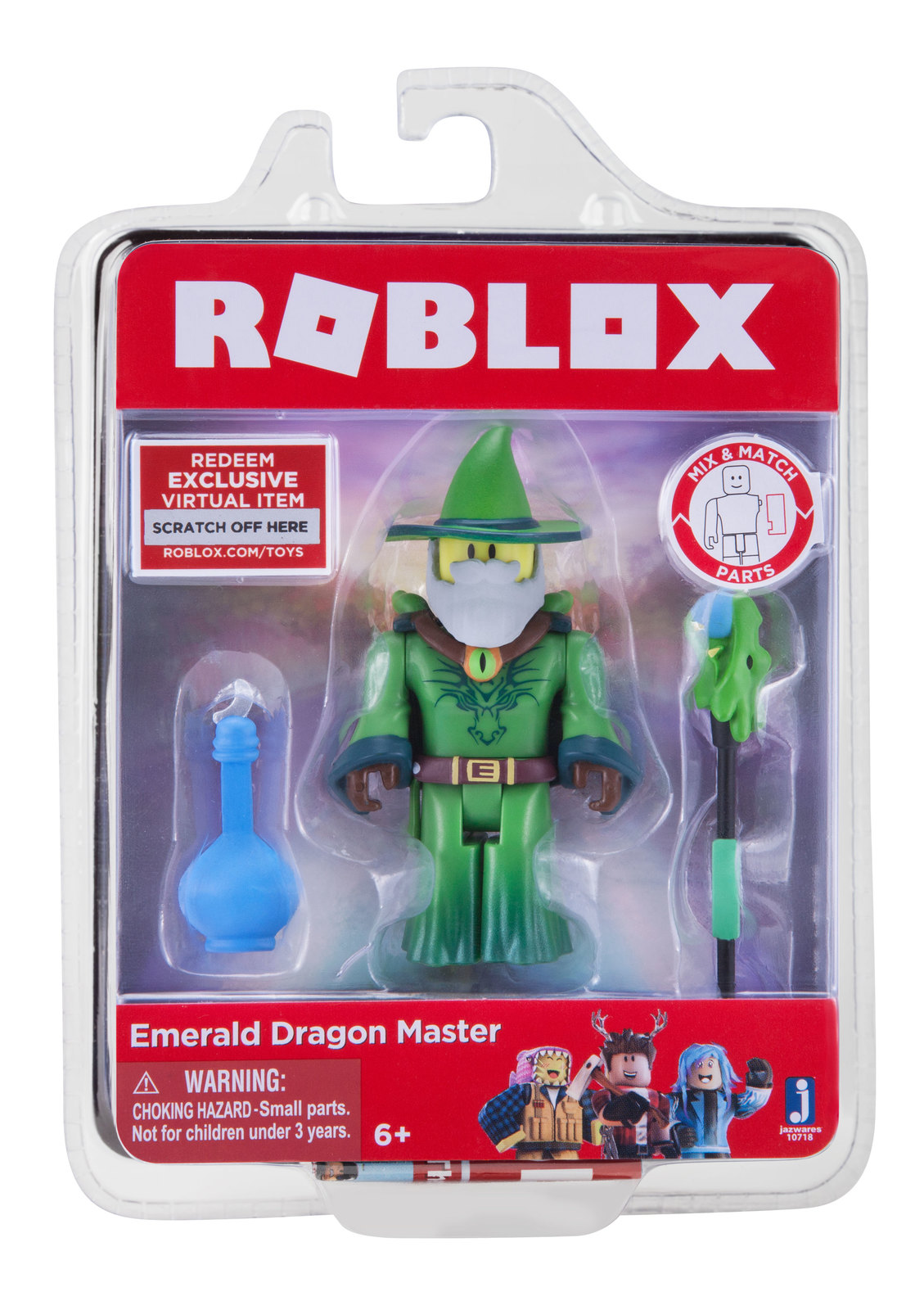 Roblox: Core Figure Pack - Emerald Dragon Master image