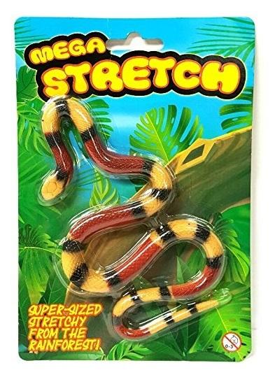 Mega Stretchy Snake - Kids Toy (Assorted Designs)