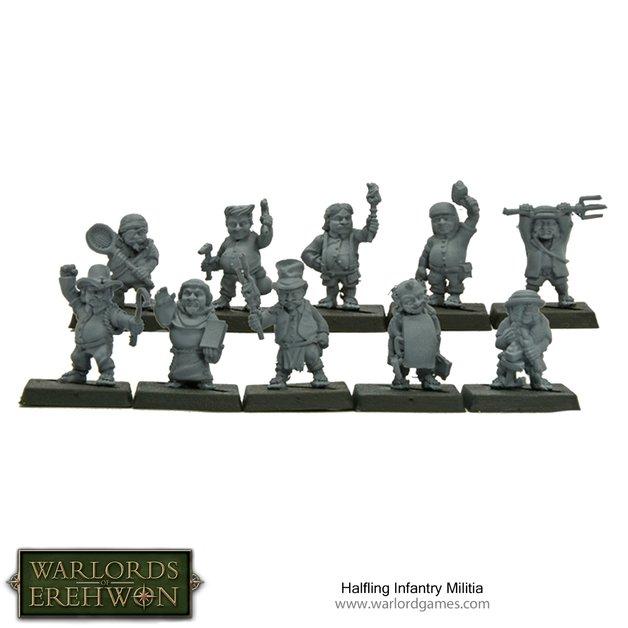 Halfling Infantry Militia