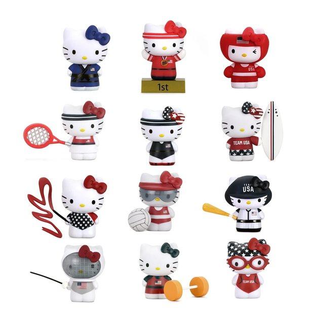 Sanrio: Hello Kitty x Team USA - Mini Figure (Blind Box)