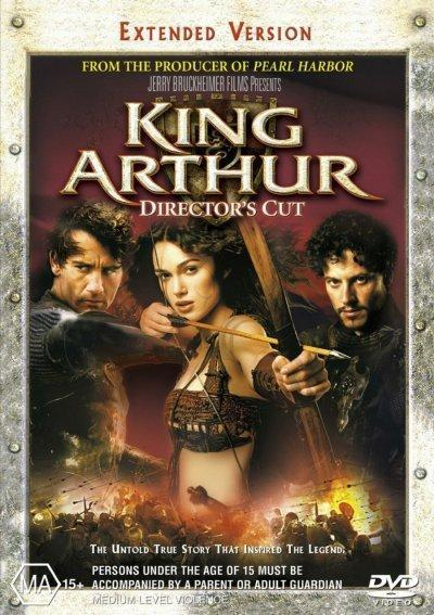 King Arthur - Director's Cut on DVD
