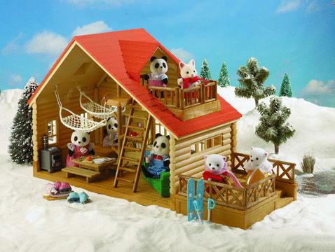 Sylvanian Families: Log Cabin