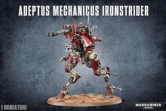 Warhammer 40,000 Adeptus Mechanicus Ironstrider