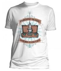 Fantastic Beasts Wand Case White T-Shirt (X-Large)