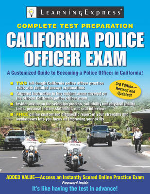 California Police Officer Exam image