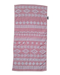 Towelling It XL Beach Towel - Pink Aztec