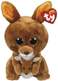 Ty Beanie Boo: Kipper Kangaroo - Medium Plush