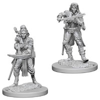 Pathfinder Deep Cuts: Unpainted Miniatures - Elf Female Bard