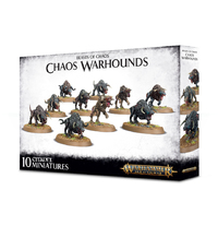 Warhammer 40,000 Monsters Of Chaos - Warhounds Of Chaos