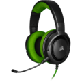 Corsair HS35 Stereo Gaming Headset (Green) for PC