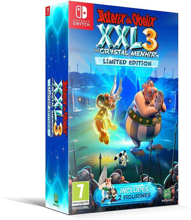 Asterix and Obelix XXL3 The Crystal Menhir Limited Edition for Switch