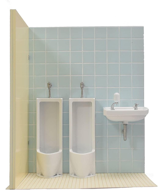1/12 Men's Toilet - Model Kit image
