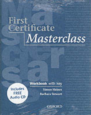 First Certificate Masterclass: Workbook and Audio CD Pack with Key by Kathy Gude image