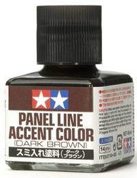 Tamiya Dark Brown Panel Accent Colour 40ml
