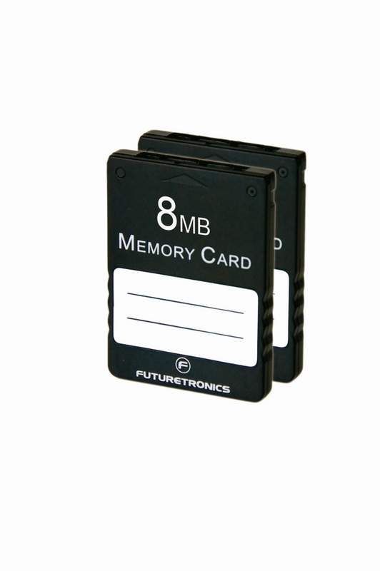 Futuretronics 8 MB Memory Card Twin Pack for PlayStation 2