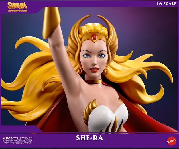 Masters of the Universe - She-Ra 1:4 Scale Statue