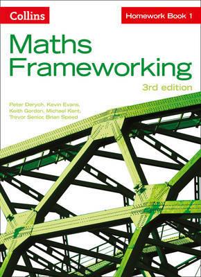 KS3 Maths Homework Book 1 by Peter Derych image