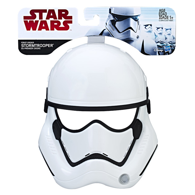Star Wars: The Last Jedi Mask - Stormtrooper