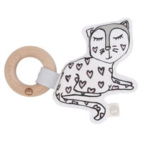 Kippins: Kitty Kiplet - Teething Rattle