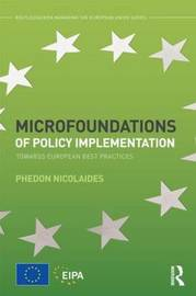 Microfoundations of Policy Implementation by Phedon Nicolaides