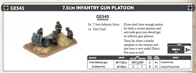 7.5cm Infantry Gun Platoon