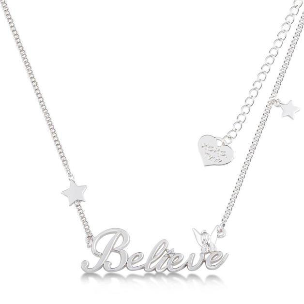 Couture Kingdom: Disney - Silver Believe Nameplate (White Gold)